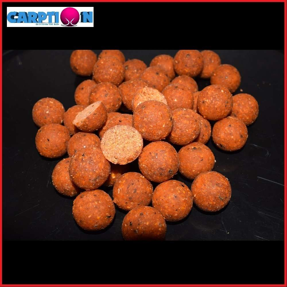 CARPTION BOILIES AMBER PINEAPPLE 15 MM 1 KG EL CARPODROMO 1