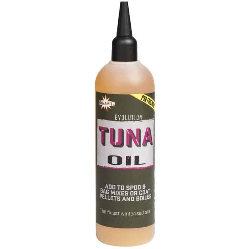 dynamite baits evolution tuna oil 300ml