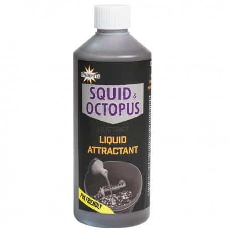 dynamite baits squid octopus liquid attractants 500ml