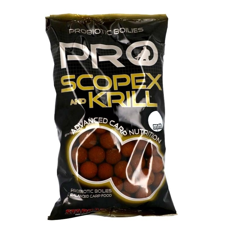 Starbaits Pro Scopex and Krill