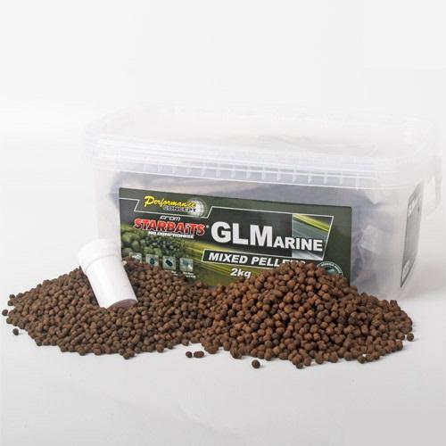 starbaits glmarine mixed pellets