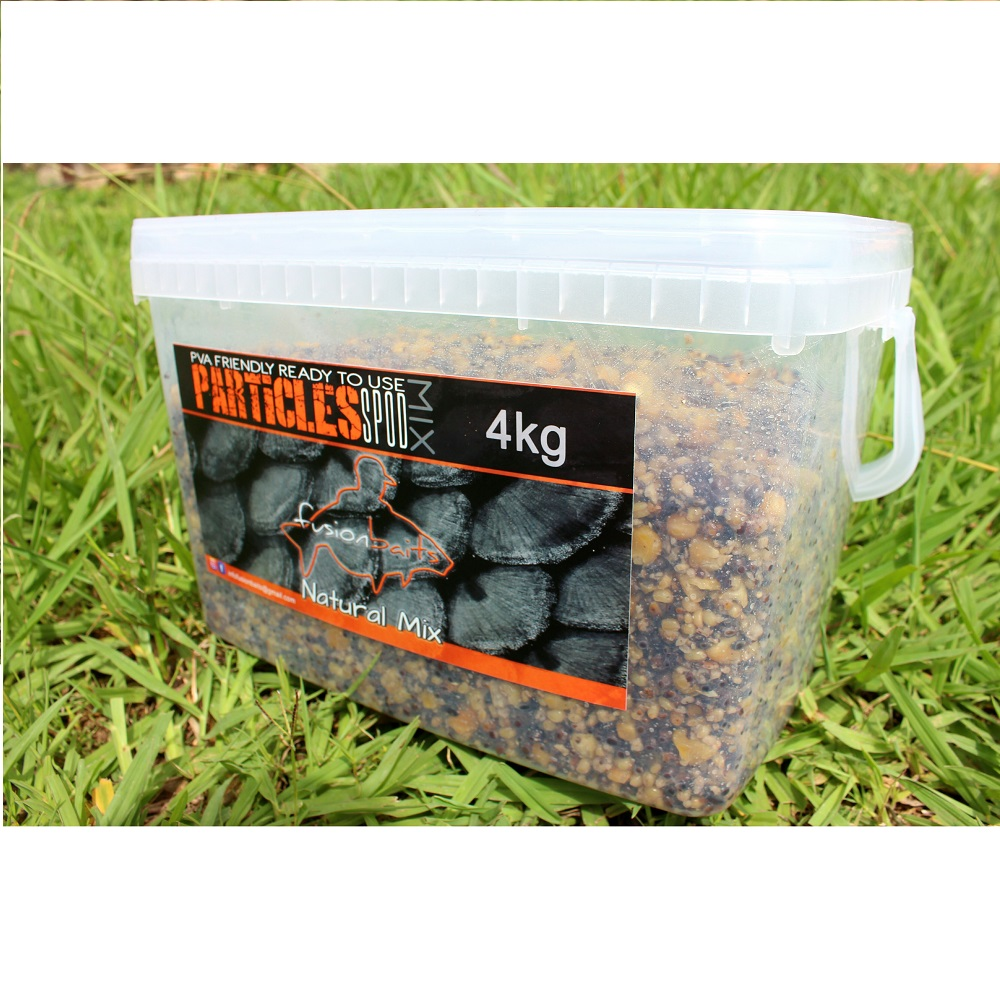 FUSION BAITS NATURAL MIX 4 KG