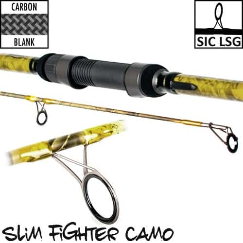 CARP DESIGN CANNE SLIM FIGHTER CAMO 10' 3.25LBS